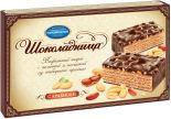 Вафельный торт Шоколадница с арахисом 430г