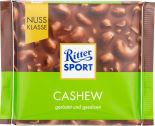 Шоколад Ritter Sport Молочный с кусочками соленого кешью 100г