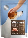 Сухой корм для собак Winner Adult для мелких пород из курицы 800г