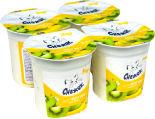 Биойогурт Снежок Киви-банан 2.5% 4шт*120г