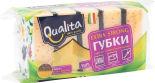 Губки для посуды Qualita Extra Strong 5шт