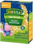 Каша Heinz Овсяная молочная с Омега 3 200мл