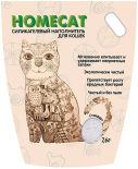 Наполнитель для кошачьего туалета Homecat Без запаха 7.6л