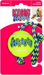 Игрушка для собак Kong Air Теннисный мяч с канатом