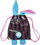 Сумка-рюкзак Fancy Заяц с пайетками