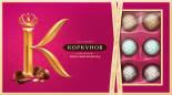 Набор конфет Коркунов Молочный шоколад с фундуком 192г