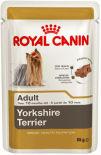 Корм для собак Royal Canin Adult Yorkshire Terrier Паштет 85г