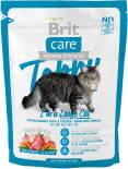 Сухой корм для кошек Brit care для крупных с уткой и курицей 400г