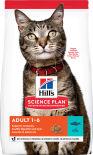 Сухой корм для кошек Hills Science Plan Adult с тунцом 3кг