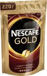 Кофе молотый в растворимом Nescafe Gold 220г