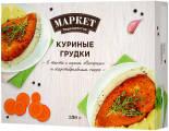 Грудки куриные Маркет Перекресток в тесте с соусом Сюпрем и картофельным пюре 350г