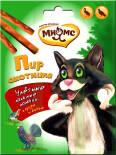 Лакомство для кошек Мнямс Пир охотника Лакомые палочки для кошек дичь гусь 3шт*4г