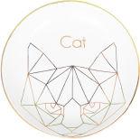 Тарелка декоративная Magic Home Cat