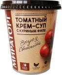 Крем-суп Мираторг Томатный с куриным филе 360г