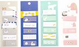 Стикеры-закладки ПЕ-1010004 6*20л в ассортименте