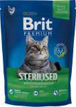 Сухой корм для кошек Brit Premium для кастрированных с куриной печенью 1.5кг
