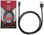 Кабель Energy ET-02 USB/Lightning черный