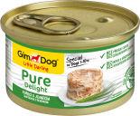 Корм для собак GimDog Pure Delight из цыпленка с ягненком 85г
