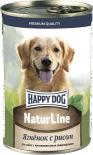 Корм для собак Happy Dog Ягненок с рисом 410г