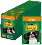 Корм для собак Friskies с курицей в подливе 85г