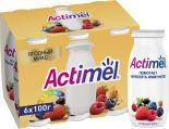 Напиток Actimel Мультивитамины Ягодный микс 2.5% 100г