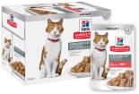 Влажный корм для стерилизованных кошек и кастрированных котов Hills Science Plan Sterilised Cat с лососем 85г