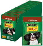 Корм для собак Friskies с ягненком в подливе 85г