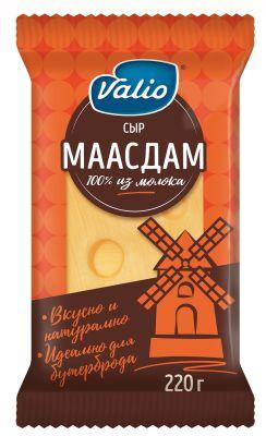 Сыр Valio Маасдам 45% 220г