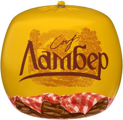 Сыр Ламбер Традиционный 50% 0.4 - 0.6 кг