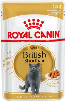 Корм для кошек Royal Canin British Shorthair Мясо в соусе 85г