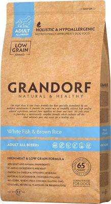 Сухой корм для собак Grandorf Adult all Рыба с рисом 12кг