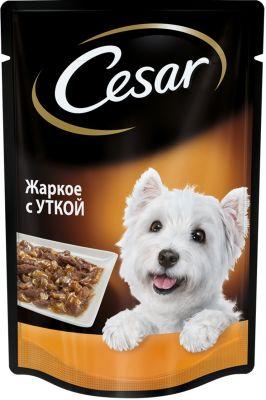 Корм для собак Cesar жаркое с уткой в желе 85г