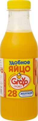 Желток яичный Grovo Удобное яйцо 28 пастеризованных желтков 500г