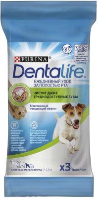 Лакомство для собак DentaLife для мелких пород для здоровья полости рта 49г