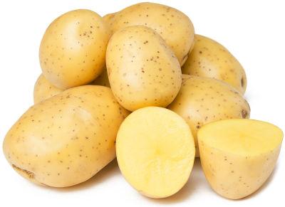 Картофель белый мытый 0.8-1.2кг