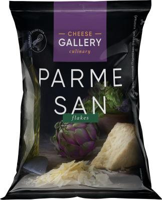 Сыр Cheese Gallery пармезан тертый хлопья 32% 100г