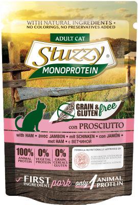 Корм для кошек Stuzzy Monoprotein Ветчина 85г