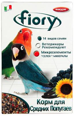 Корм для птиц Fiory для средних попугаев 800г