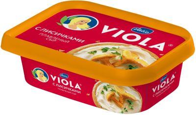 Сыр плавленый Viola с лисичками 50% 200г