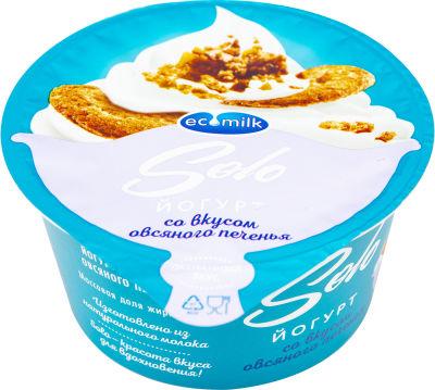 Йогурт Экомилк со вкусом овсяного печенья 4.2% 130г