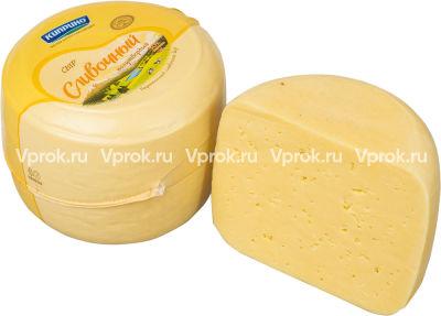 Сыр Киприно Сливочный 50% 0.4-0.6 кг