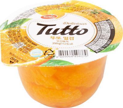 Десерт Tutto Японский Мандарин 250г