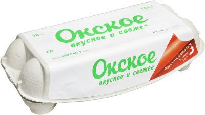 Яйца Окское СО белые 10шт