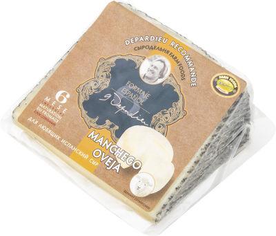 Сыр Жерар Депардье рекомендует Manchego Oveja 45% 200г