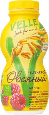 Продукт овсяный питьевой Velle Малина 250г
